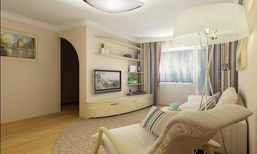 Фото - Рекомендації по вибору дизайну залу 16 кв м