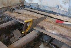 ремонт деревяної підлоги в квартирі