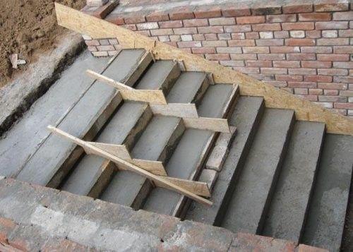 Ремонт пошкоджених бетонних ступенів