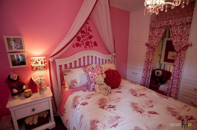 Фото - Рожева дитяча кімната: казка для принцес