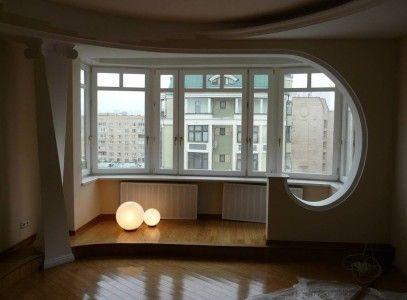 Обєднання балкона і кімнати