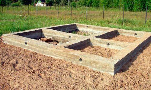 Фото - З чого почати будувати лазню: підготовка місцевості і матеріалів
