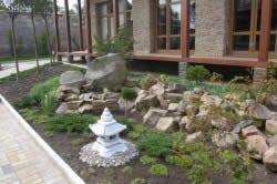 Пристрій камянистого саду