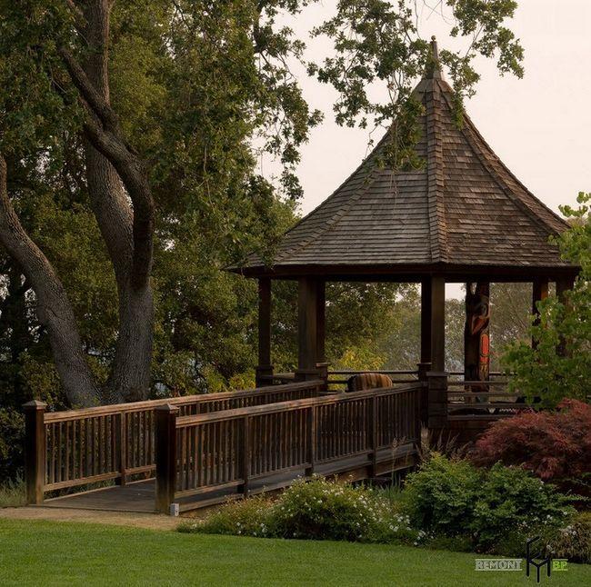 Фото - Садові альтанки: вибираємо унікальний і практичний дизайн