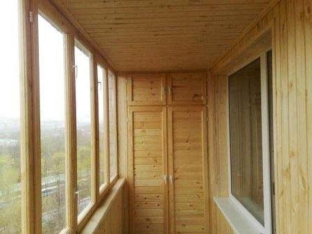Саморобний шафа для балкона