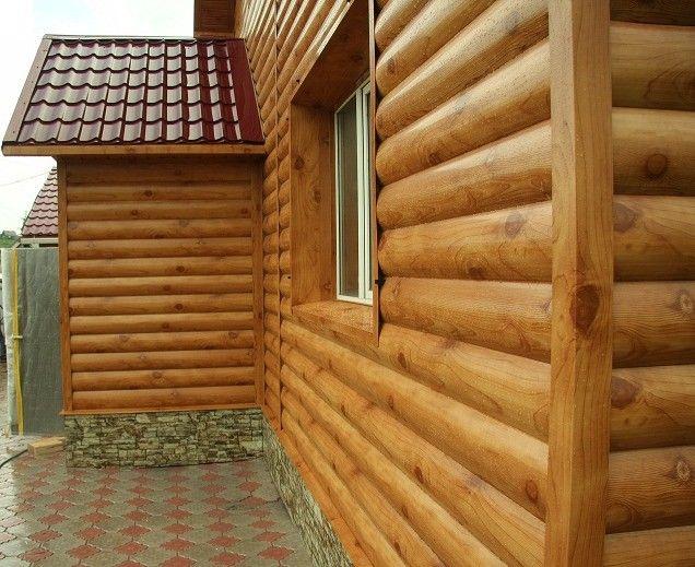 Фото - Самостійна обшивка будинку блок хаусом