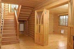 Обшивка будинку деревяною блок хаусом