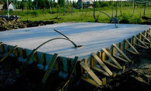 Самостійна фарбування бетонного фундаменту