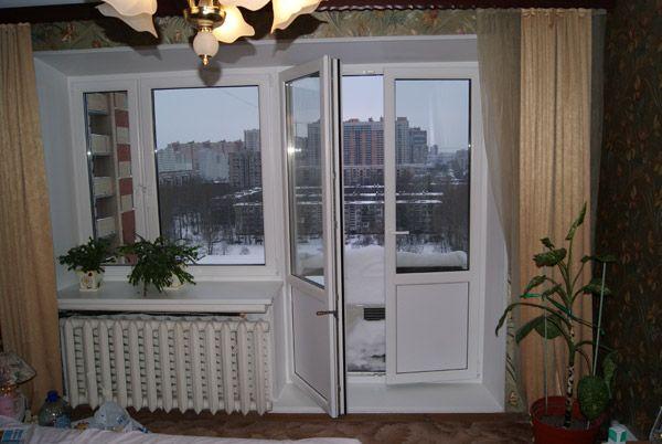 Фото - Самостійна установка балконних дверей