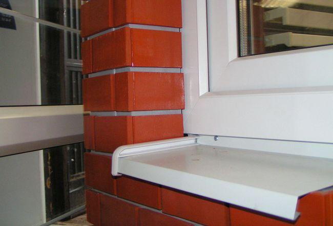 Фото - Самостійна установка відливів на вікнах