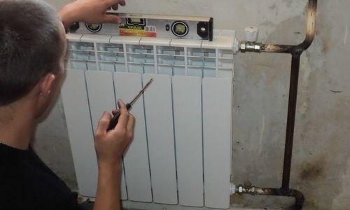 Фото - Самостійний монтаж радіаторів опалення