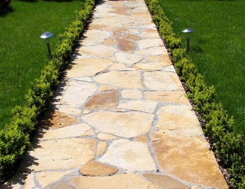 Фото - Найсучасніший і естетичний варіант укладання садових доріжок