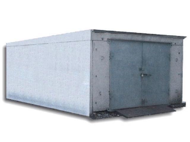 Фото - Збірний гараж на піщаній подушці