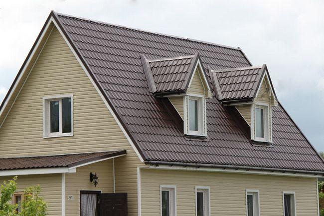 Фото - Як зробити дах з металочерепиці