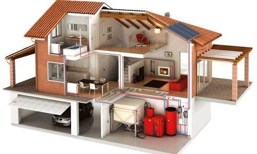 Фото - Схема монтажу опалення