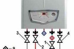 Правильна схема підключення двоконтурного газового котла