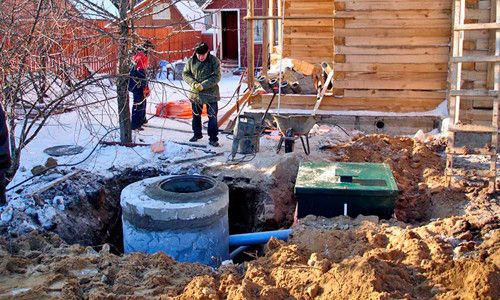 Фото - Схеми систем каналізації заміського або приватного будинку