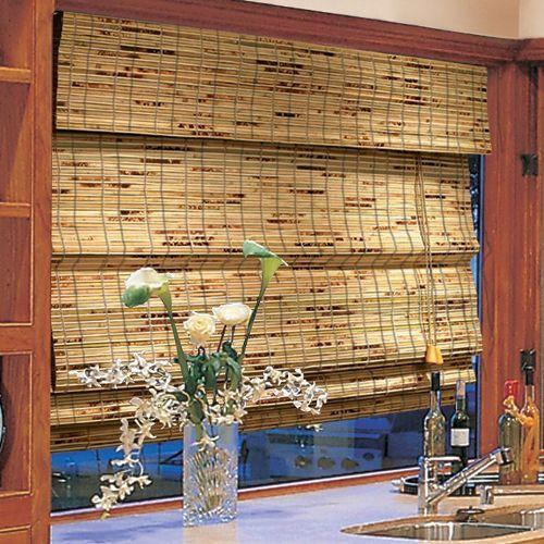 Штори на кухню бамбукові
