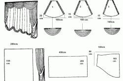 Фото - Бузкові штори і драпірування в інтер'єрі