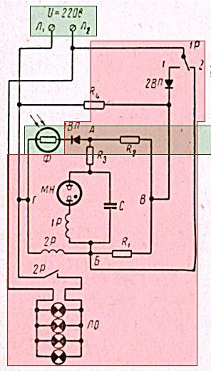 Фото - Система автоматичного включення і виключення освітлення