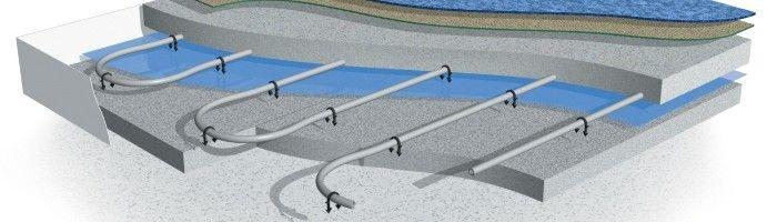 Фото - Система теплої підлоги в бетонному стягуванні