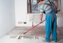 витрата суміші для вирівнювання підлоги
