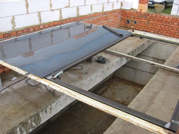 Фото - Оглядова яма в бетонній підлозі: грамотне облаштування