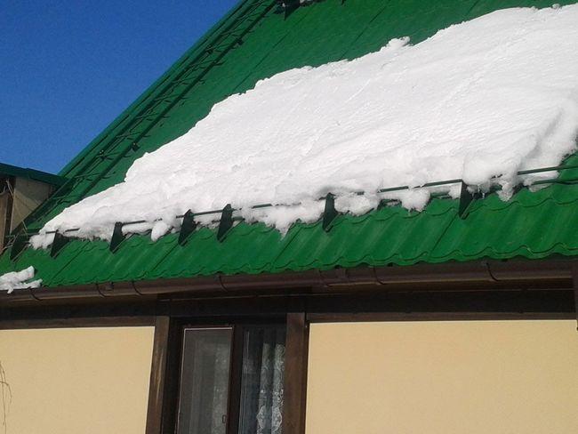 Фото - Снігозатримувачі - ідеальне рішення проблеми скупчення сніжного покриву