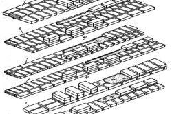 Схема розкладки цегли