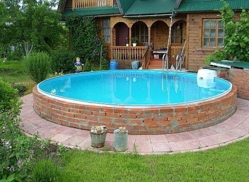 Фото - Спорудження басейну своїми руками з цегли