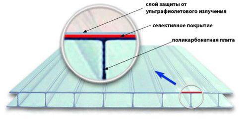 Фото - Стільниковий полікарбонат