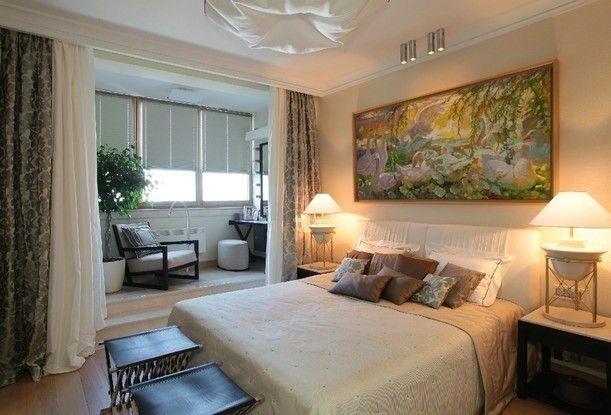 Фото - Поради по об'єднанню кімнати з балконом