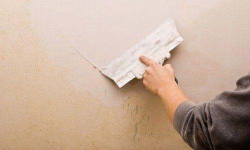 Шпаклівка стіни своїми руками