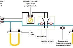 Електрична схема водонагрівача
