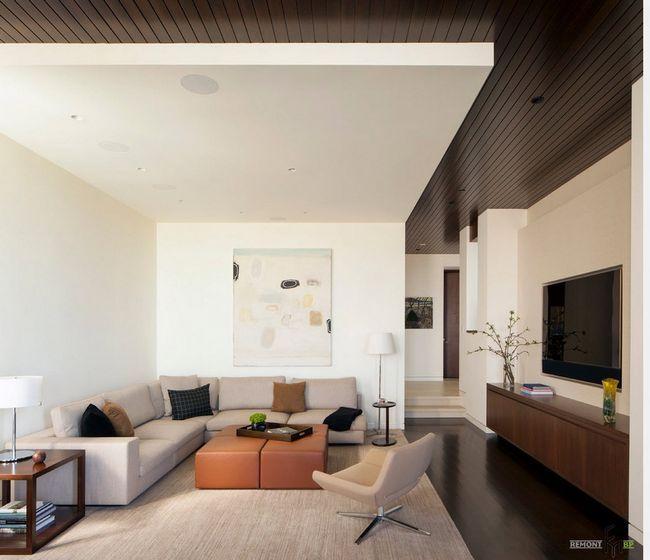 Фото - Сучасна вітальня - мікс дизайнерських ідей