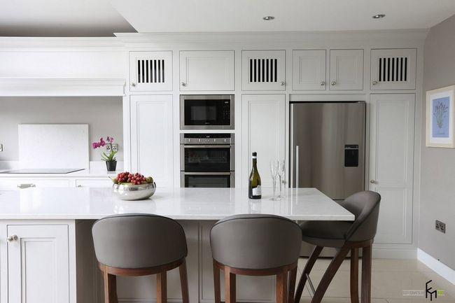 Фото - Сучасна класика - краса і практичність в дизайні кухні