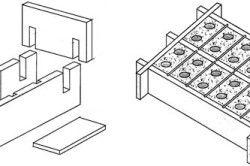 Форми для виготовлення шлакоблоків