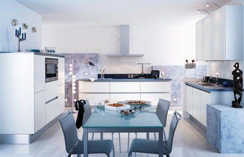 Кухні в стилі хайтек фото