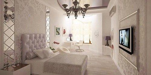 Фото - Сучасні стильні варіанти обробки спальні