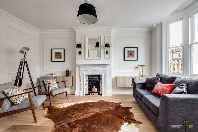 Фото - Сучасний англійський стиль в інтер'єрі заміського будинку