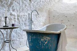Ванна кімната в ретро стилі