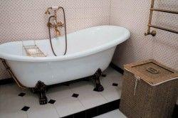 Ванна кімната в класичному ретро стилі