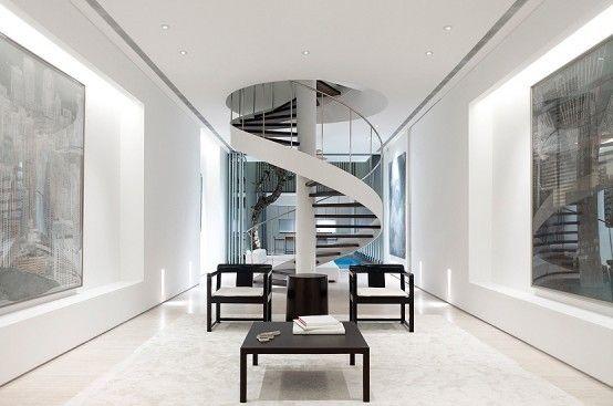 Фото - Сучасний дизайн сходів - досконалість, функціоналізм та безпеку