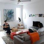 Меблі у вітальні на фото