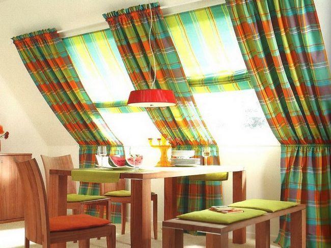 Фото - Сучасний дизайн вікон: штори та гардини