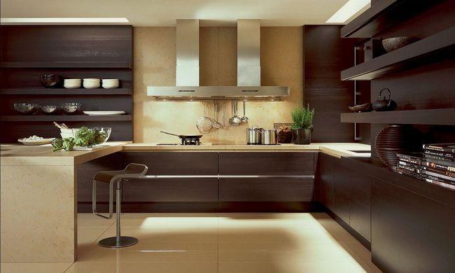 Фото - Сучасний і цікавий дизайн кухні