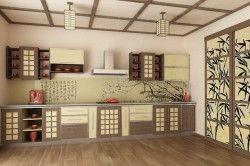 Дизайн кухні в східному стилі