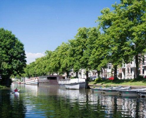 Плаваючий будинок в Нідерландах