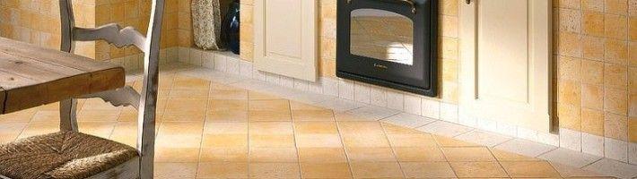 Фото - Створюємо на кухні дизайн підлоги керамічною плиткою
