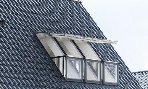 Фото - Створення балкона на мансарді